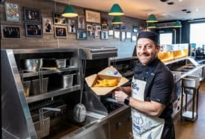 The Bay Fish and Chips team