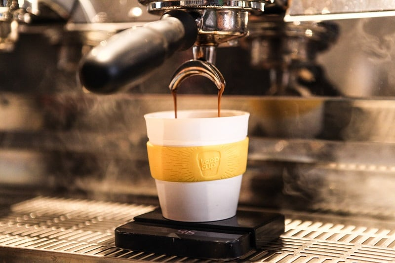 coffee in keep cup