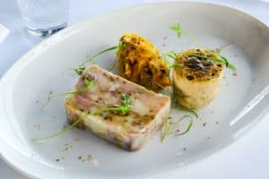 Pork terrine dish